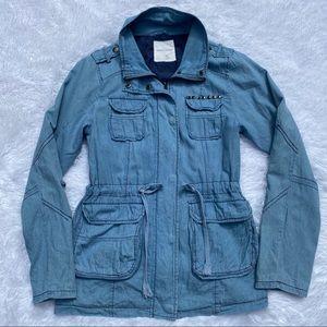 UO Sound & Matter Studded Drawstring Jacket